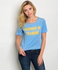 Mermaid In Training top