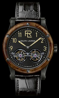 Read about it: http://www.ablogtowatch.com/ralph-lauren-rl-automotive-tourbillon-double-tourbillon-watches/ #sihhabtw