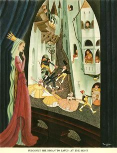 Illustration: Gustaf Tenggren and the Genesis of the Golden Book Style - AnimationResources.org - Serving the Online Animation Community