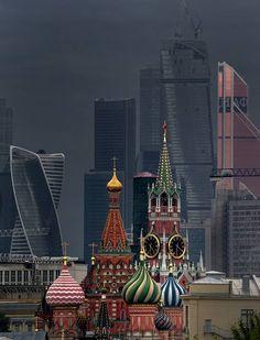 Вид на Кремль с Хитровки
