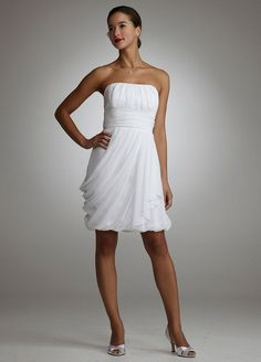 An Easy Way To Get A Short Wedding Gown