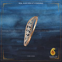 ltd, Vijayawada, India. Swarn Sri is full of passionate individuals, all dedicated for the production of. Gold Bangle Bracelet, Diamond Bracelets, Sterling Silver Bracelets, Diamond Earrings, Gold Bangles Design, Gold Jewellery Design, Hyderabad, Gourd, Grains