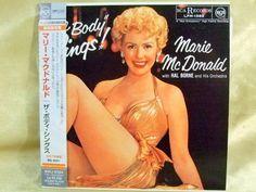 CD/Japan- MARIE McDONALD The Body Sings w/OBI RARE MINI-LP remaster LIMITED #Vocal