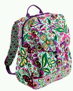 967a56210a1 Backpack Purse, Fashion Backpack, Vera Bradley Backpack, Vera Bradley  Patterns, Back To