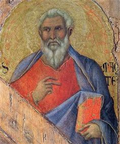 The Apostle Matthew - Duccio