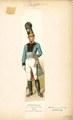 Bavaria; 14th Line Infantry Oberlieutenant 1809