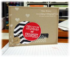 Love this adorable card made with Snuggles and Smooches