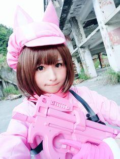 Sword Art Online Two>>>>> Please. Kawaii Cosplay, Cosplay Anime, Cute Cosplay, Amazing Cosplay, Cosplay Outfits, Cosplay Costumes, Sword Art Online Cosplay, Cosplay Sword, Belle Cosplay