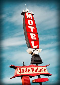 Jade Palace Motel by Shakes The Clown, via Flickr