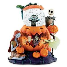 Disney Nightmare Before Christmas Double Bubble Snowglobe