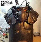 Cool Fallout Enclave Power Armor by Tentacle Creations