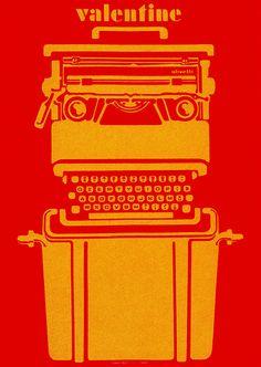 Roberto Pieraccini Illustration for Olivetti by sandiv999, via Flickr