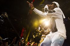 Image result for performing rap live