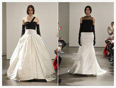 Vera Wang Spring 2014 white+black Wedding Dresses Australia, Spring 2014, Vera Wang, Bridal Collection, Custom Made, Formal Dresses, Black, Fashion, Dresses For Formal