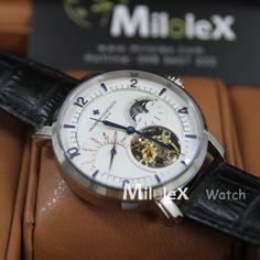 đồng hồ cơ nên dây cót bằng tay