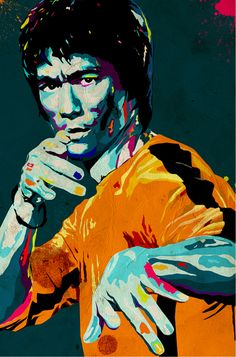Bruce Lee... Be water, my friend... very cool...