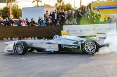 Formula E car. Wow! The battery technology is finally catching up