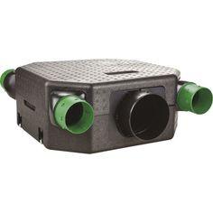 Caisson VMC simple flux hygroréglable S&P Extra plat basse conso