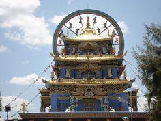 Buddha temple, Tibetian settlement, kushal nagar, coorg, India