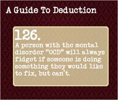 A Guide To Deduction: This is true, actually. THAT ONE KIDS HAIR, I SWEAR TO MARCO'S FRECKLES!