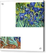 Bw 6 Van Gogh Acrylic Print by David Bridburg