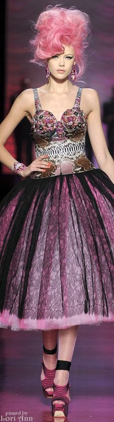 Jean Paul Gaultier Couture Spring 2012