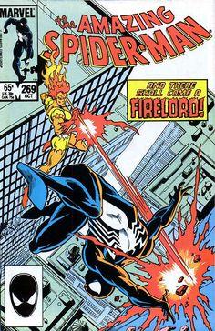 the Amazing Spider-Man (vol.1) #269 by Ron Frenz & Joe Rubinstein #Firelord