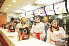 McDonald's Employees In Taiwan Get To Cosplay For Special Occasions