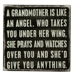 Be a Grandma~an awesome one!