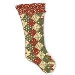 Free Pattern Secret Santa Stocking. @modafabrics