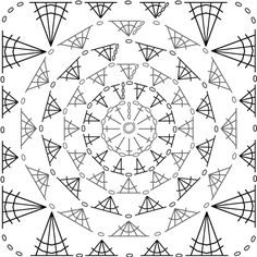 300 best crochet diagrams images on pinterest crochet patterns detail granny square crochet patterncrochet ccuart Choice Image