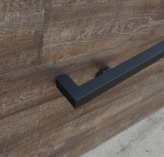 Modern Wrought Iron handrail End Wall Mount steel hand rail | Etsy