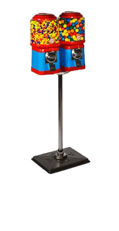 TWIN CLASSIC STAND FOR Gumball Machines