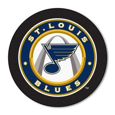 Flexible Magnet Covers Entire Back of Picture in a Glossy Laminate. Nhl Logos, Sports Team Logos, St Louis Blues Logo, Blues Nhl, Nhl Winter Classic, Nhl Jerseys, Hockey Puck, World Of Sports, Go Blue