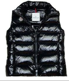 New Black Moncler Ghany Vest for Women