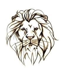 stenciled lion head - Google Search