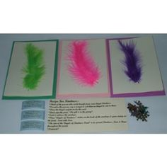 Angels of Kindness Fund Feather Cards | A.O.K. Angels Pack includes x3 feather cards, various colours with matching envelopes. Be an Angel & spread kindness in the world. All proceeds of these cards goes directly to the Angels of Kindness Fund. $10.00 CLICK HERE: http://aokangels.com.au/aok-angels-shop/angels-of-kindness-fund-feather-cards/angels-of-kindness-fund-feather-cards.html