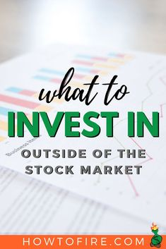 What to Invest in Outside the Stock Market - Stock Market Tool - Ideas of Stock Market Tool - If youre looking for what to invest in outside the stock market read our comprehensive guide. It covers your investing alternatives. Investing In Stocks, Investing Money, Saving For Retirement, Early Retirement, Ways To Save Money, Money Saving Tips, Money Tips, Economic Goods, Individual Retirement Account