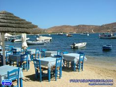 Tables by the sea ~ Serifos