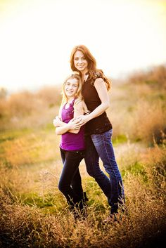 I love this mother daughter shot!