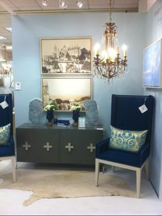Blue room - Nancy Price Interiors