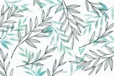 Nature background with gray and blue leaves Vector Backgrounds Free, Flower Backgrounds, Adobe Illustrator, Floral Pattern Vector, Floral Texture, Macbook Wallpaper, Leaves Vector, Blue Leaves, Pattern Illustration