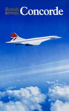 Concorde, British Airways #travel #alookat #airlines