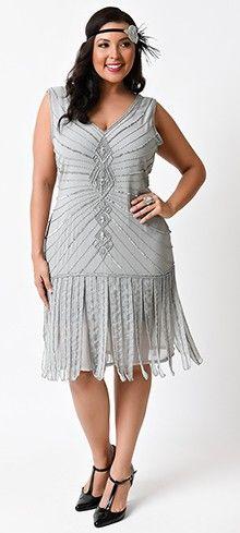 plus size black hemingway flapper dress | discover best ideas