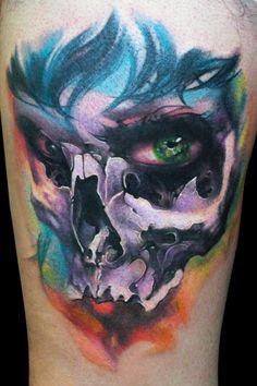 Woman Skull by maximolutztattoo.deviantart.com on @deviantART #tattoos #art #ink