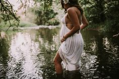 Maternity photo Maternity in water Maternity photo