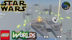 Lego Worlds | TIE Fighter | NEW!