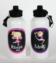 Gymnastics Water Bottle Gymnastic by TheTrendyButterfly on Etsy, $19.00