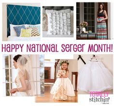 Celebrate National Serger Month!