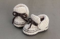 Crochet Baby Boy Booties, Crochet Baby Booties, Baby Boy Shoes Available in Sizes Newborn to 3-6 mos